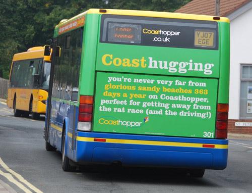 Coast hopper Norfolk Path Peddars Way