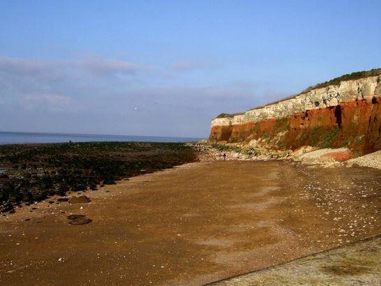 Old Hunstanton Beach Norfolk